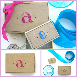 Preppy Monogram Box