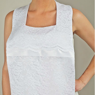 Bridal Bib - Couture Heather