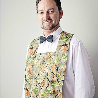 Mr. Camo Wedding Bibs for Grooms