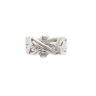 Silver Puzzle Ring