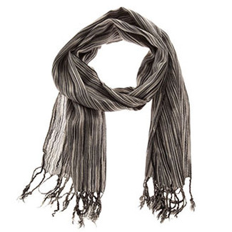 Scarves - Cotton Thin Striped