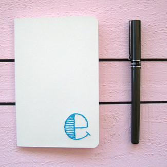 Preppy Monogram Journal