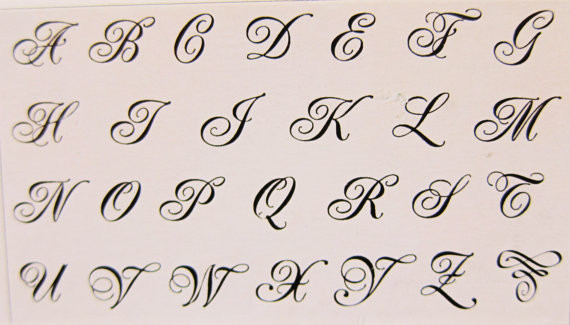 Fancy Cursive Capital M