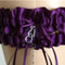 Purple Plum Wedding Garter Set