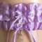 Orchid Purple Wedding Garter Set