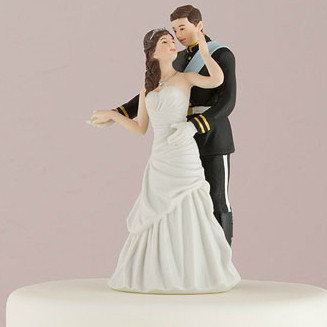 Prince and Princess Wedding Cake Topper