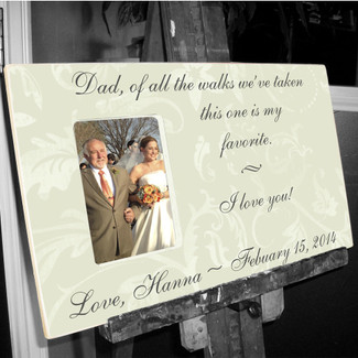 Personalized Picture Frame Guestbook Alternative