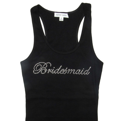 Bridesmaid Script Tank Top