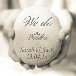 We Do Wedding print