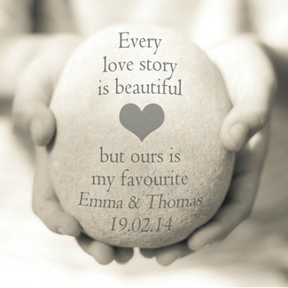 Every love story is beautiful but ours is my favorite - custom print