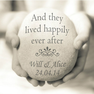 And They Lived Happily Ever After - anniversary gift