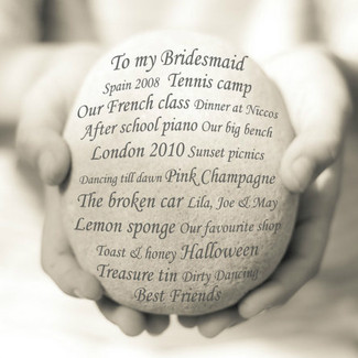 Unique bridesmaid gift idea