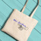 Bridal Tote Bag Violet Dance