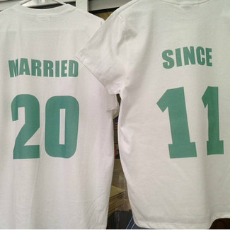 Married Since Shirt Set