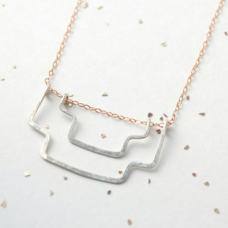 southwest silhouette necklace