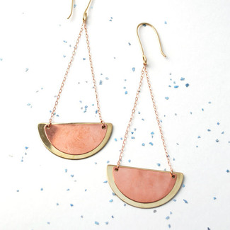 Scallop Duo Earrings
