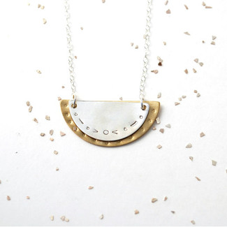 Scallop Duo Necklace