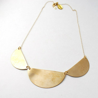 3 Scallop Love Necklace