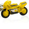 Yellow Motorcycle Cufflinks