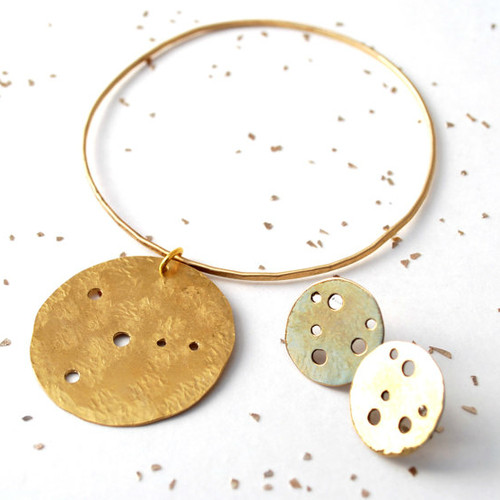 constellation bangle dangle