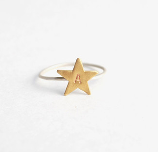 star me up custom stamped ring
