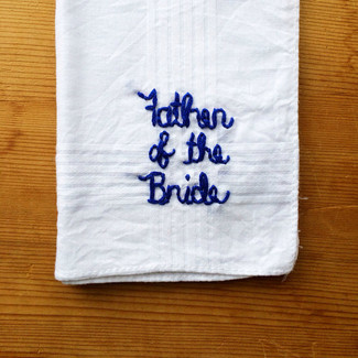 Father of the Bride Hanky