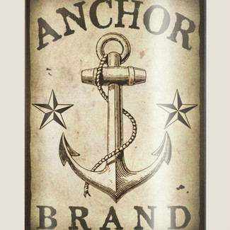 Anchor Brand, 8 oz. stainless steel