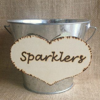 Wedding Sparklers Bucket