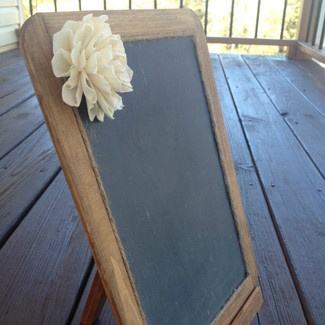 Wedding Chalkboard with Easel