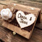 Shabby Chic Ring Bearer Box
