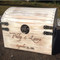 White Distressed Wedding Card Box