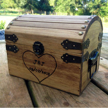 Small Chest w/ Engraved Heart