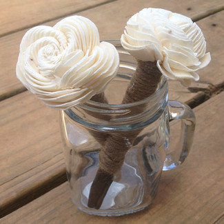 Rustic Wedding Guestbook Pen