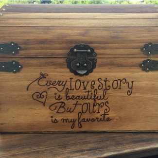 Every Love Story Wedding Box