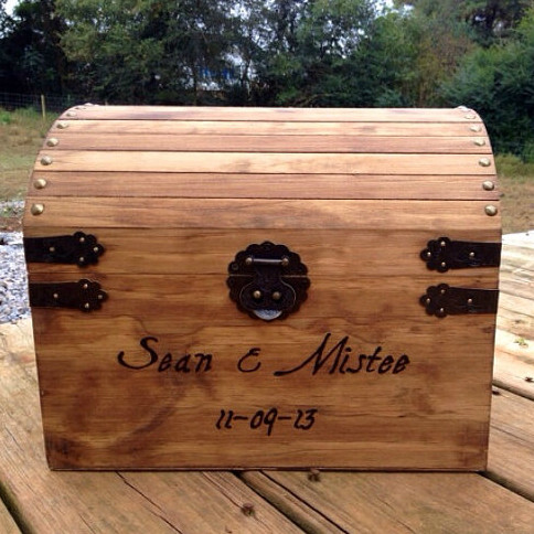 Wooden Card Box - Extra Large