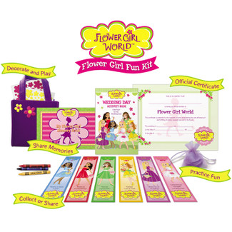 Fun-Filled Activity Kit for Flower Girls
