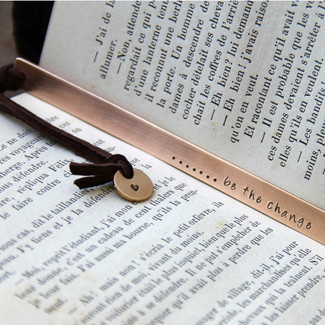 Be the Change - Bookmark