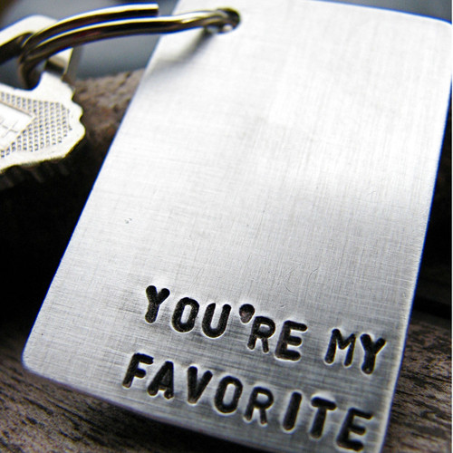 You're My Favorite Keychain