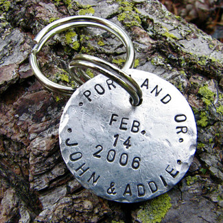 Postmarked with Love Keychain