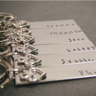 Bridal Party Keychains