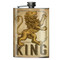 Lion King Flask - 8 oz. stainless steel