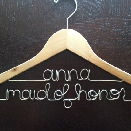Maid of Honor Wooden Hanger