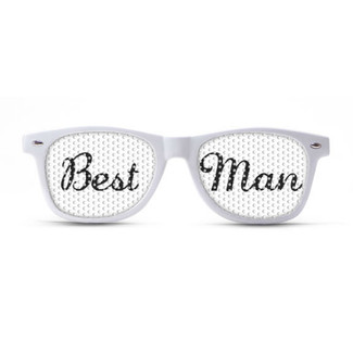 Best Man Wedding Sunglasses