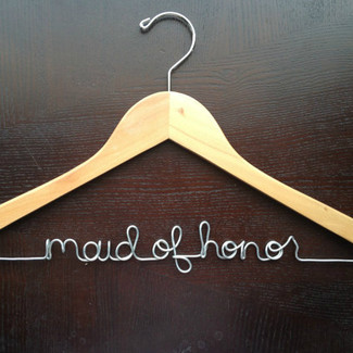 Maid of Honor Wedding Hnager