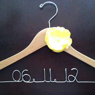 Wedding Date Hanger