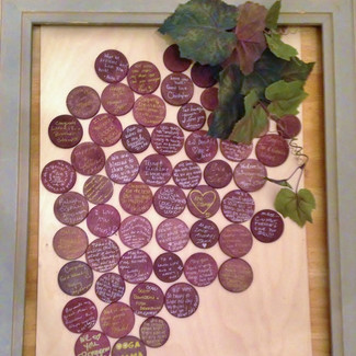 Wine Themed Guestbook - Set of 100