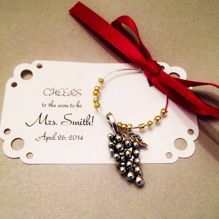 Wine Charm Wedding favors