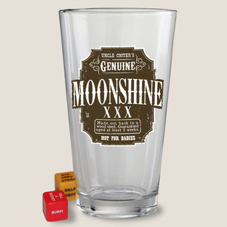 Moonshine Pint Glass