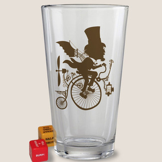 Inventor Pint Glass
