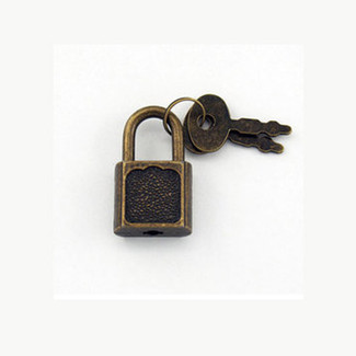Mini Padlock Add On for Winebox or Chest